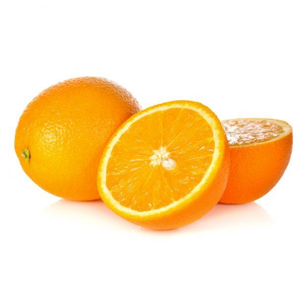 Washington navels have a sweet orange flavor